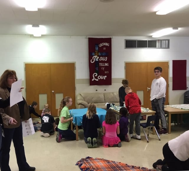 Physical Fitness Tied To Kids Academic >> Blankets For Kids Of Wisconsin Eastside Evangelical Lutheran